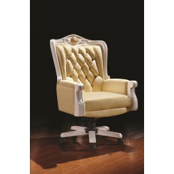 3028 OFFICE LEATHER CHAIR