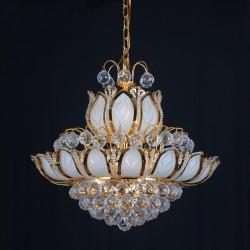 1098 Gold Cristall Chandlier