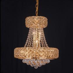 1083 Gold Cristall Chandlier